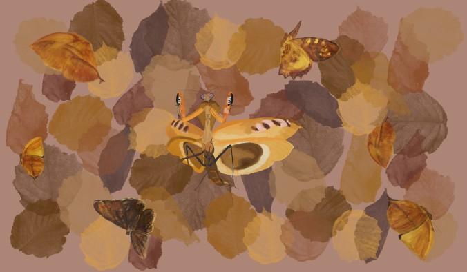 mantis scarf